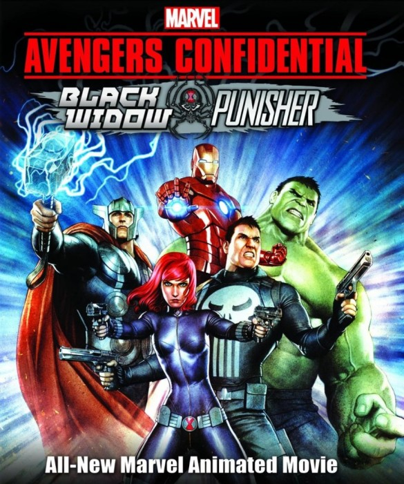 Avengers Confidential: Black Widow & Punisher (2014) Sony Pictures Entertainment Japan