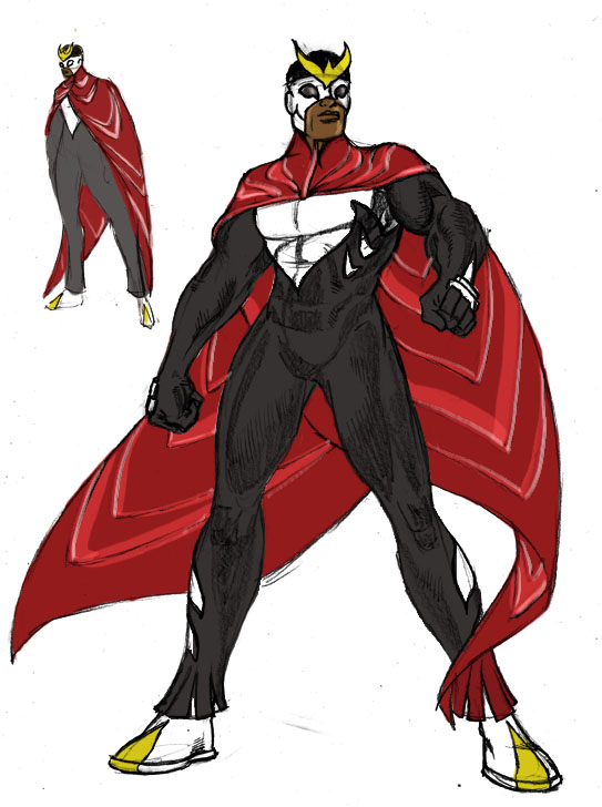 Comics Redesign: The Falcon