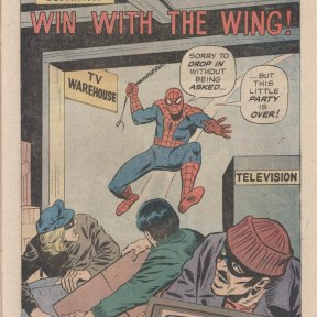 Spidey Super Stories Co-Starring Falcon Page 1