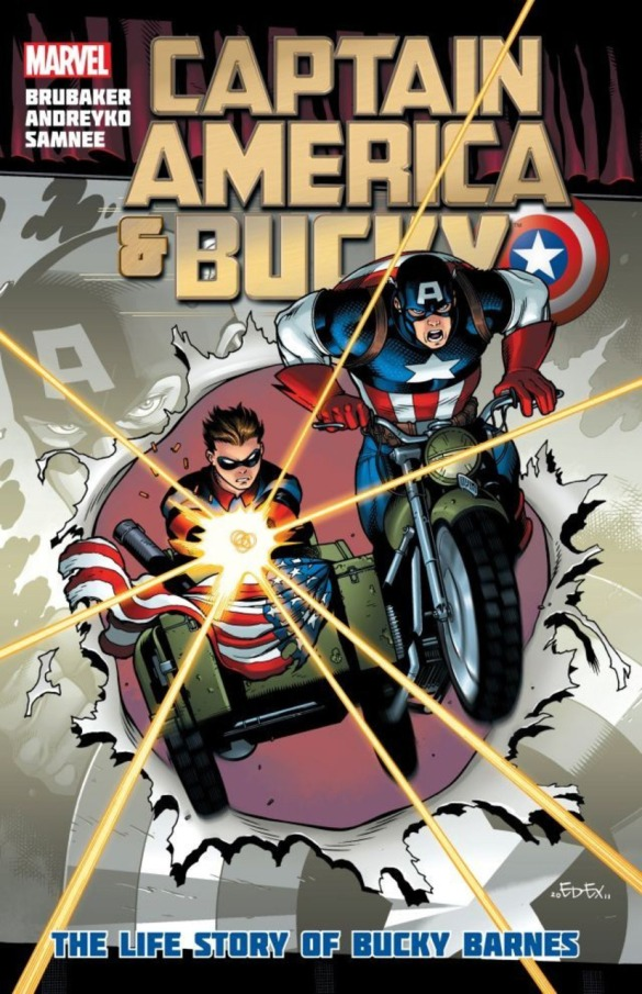 From Captain America & Bucky: The Life Story of Bucky Barnes (2012) byEd Brubaker, Marc Andreyko, and Chris Samnee