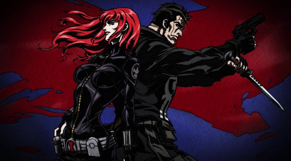 Avengers Confidential: Black Widow & Punisher (2014) Madhouse studios, Directed by Kenichi Shimizu; Screenplay by Mitsutaka Hirota; Story by Marjorie Liu