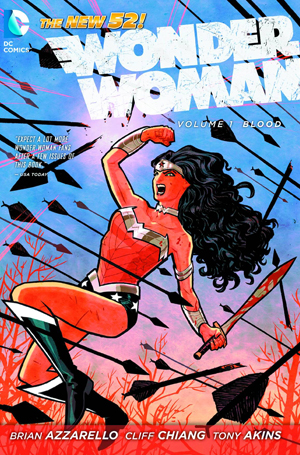 Wonder Woman, Vol. 1: Blood (The New 52) trade paperback by Brian Azzarello  (Author), Cliff Chiang (Illustrator)