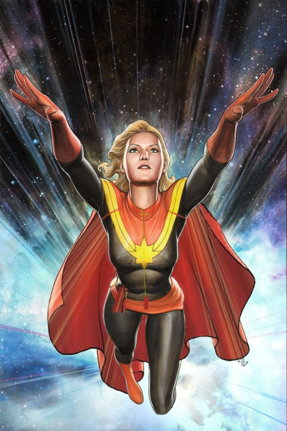 Captain Marvel needs a Cape!