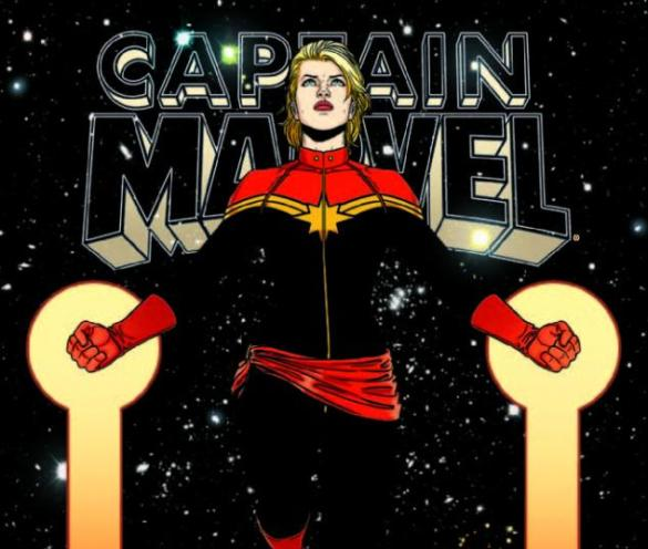 from Captain Marvel #10, cover by Filipe Andrade (2012)