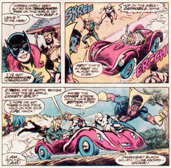 from Defenders #63 (Marvel Comics, 1978) by David Kraft and Sal Buscema